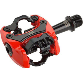 iSSi Flash III Pedals red/black